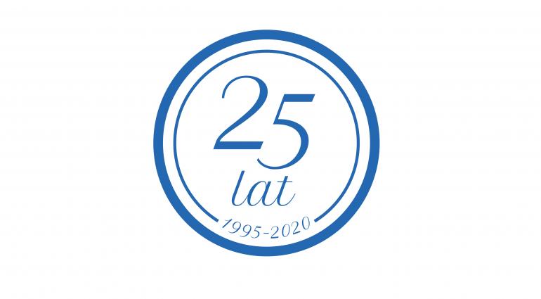 25 Jahre des Bestehens des Unternehmens