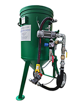 Mobile sandblasting / cleaning machines