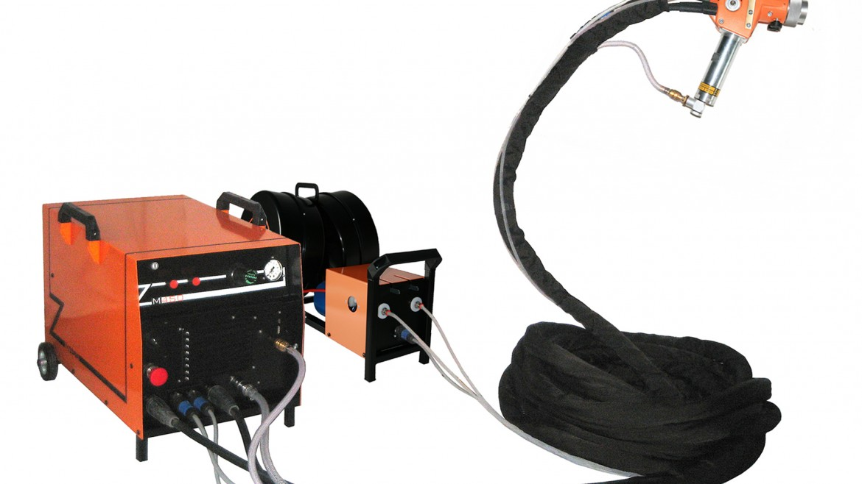Electric arc metallization kit