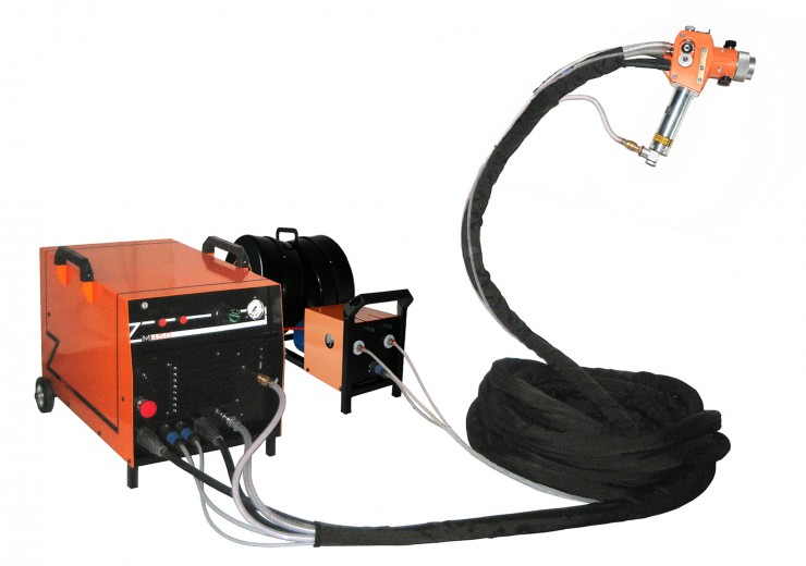 Electric arc metallization kit